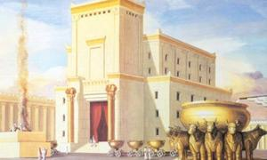 A modern interpretation of King Solomon's Temple.