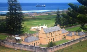 Prison turned government building at KAVHA on Norfolk Island (1825-55).