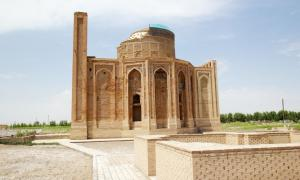 Turabek Khanum Mausoleum, Turkmenistan             Source: Maurizio/ Adobe Stock