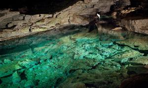 Ice Cave Lake, Krubera Cave