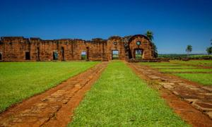The ruins of Jesús de Tavarangue                              Source: Kylie / Adobe Stock