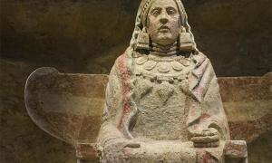 The Lady of Baza, a famous example of Iberian sculpture by the Bastetani, has long been a source of contention. Source: Juan Aunión / Adobe Stock