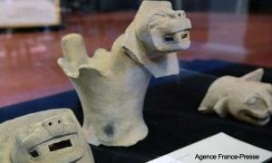 Lake Titicaca Bolivia Artefacts