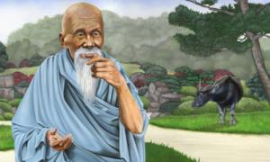 An Illustration of Lao-Tzu.