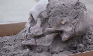 A Las Vegas culture skull excavated in Loma Atahualpa, Ecuador in 2018 is part of the oldest burials found in the country to date.