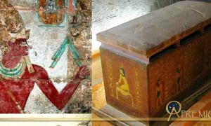 Collection of Egyptian Art, design by Anand Balaji