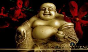 Budai figurine