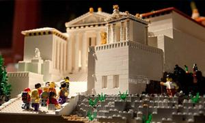 Lego Acropolis Proves Just as Popular as the Real Thing