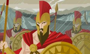 King Leonidas and the Epic Battle of the 300 at Thermopylae