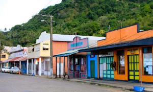 Main Street, Levuka historical port town.