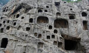 Longmen Grottoes in China