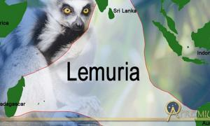 Possible location for Lemuria. (Image creator: Liz Leafloor: Public Domain/Deriv)