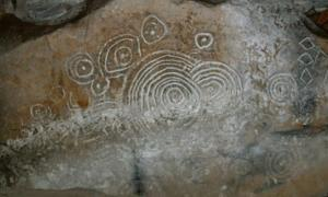 One of the Loughcrew eclipse rocks (IrishCentral)
