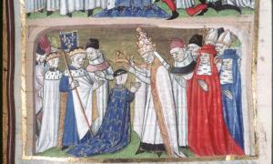 Coronation of Louis the Pious as King of Aquitaine.