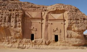 Tombs of Mada'in Saleh                   Source: mstarling / Adobe Stock