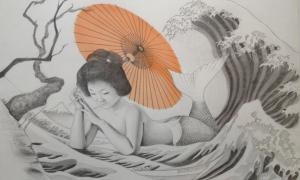 Magical Mermaids of Japanese Folklore