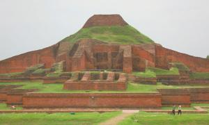Somapura Mahavihara in Bangladesh.
