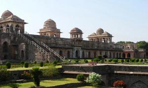 The Jahaz Mahal, Mandu, India