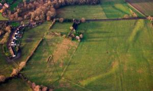 The site of Marden Henge in Wiltshire (Snip View)