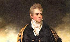 Painting of Howe Browne (1788 – 1845), 2nd Marquess of Sligo, the Irish Aristocrat.  Source: Unknown author / Public domain