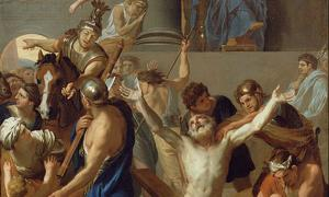 Detail of 'The Martyrdom of St. Andrew' (1646-1647) by Charles Le Brun.