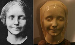 The Young Woman's Mask of Death That Inspires The Living