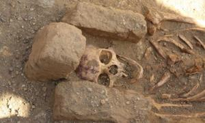 Massive Cemeteries with Strange Burials Excavated at Medieval Monastery in Sudan