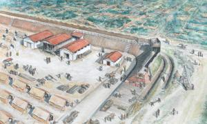 Romans, quaking in their Sandals After an Attack by Boudica, built a Massive Fort to Defend London
