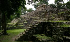 West Acropolis of Yaxchilan