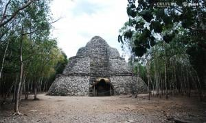 Cobá, in Quintana Roo, Mexico, was once ruled by a Maya warrior queen. Source: Mauricio Marat/ INAH