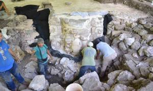 Giant Face of Ucanha: Giant Sculpted Mayan Mask Found in Mexico