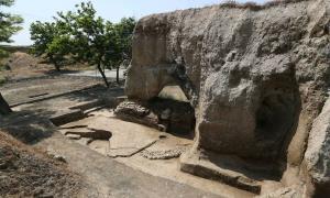 Hegmataneh hill, Hamadan City, Iran, where the new Iranian Median Empire discoveries were made Source: IRNA