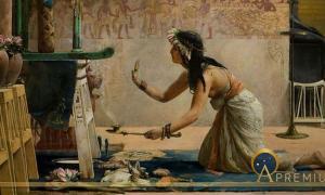 The Obsequies of an Egyptian Cat, John Reinhard Weguelin, 1886 ( Public Domain )