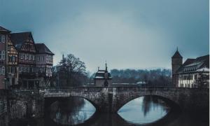 Medieval town of Schwäbisch Hall in Baden-Württemberg, Germany.             Source: Gaschwald / Adobe Stock