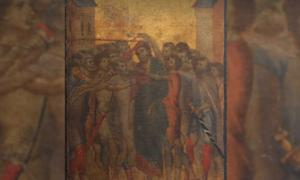 Medieval Masterpiece 'Christ Mocked' by Cimabue   Source: Eric Turquin Experts en Tableaux
