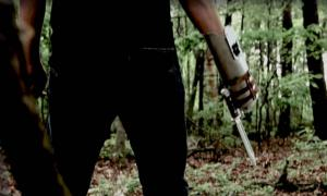 YouTube Screenshot from The Walking Dead Role Play Weapons by ThinkGeek