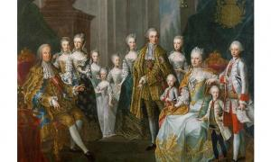 Members of the Habsburg family