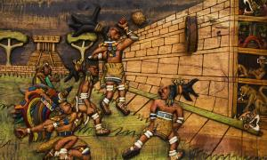 Mesoamerican ball game players