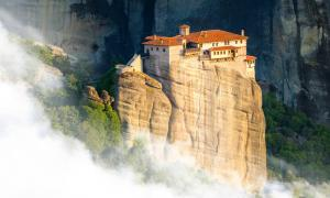Monastery in Meteora, Greece.