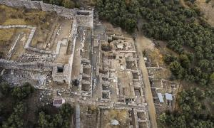 Four Water Cisterns Found At The Ancient City Of Metropolis