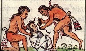 Preparation of a corpse, Florentine Codex Book 3
