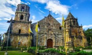 Miagao Church, a Baroque Spanish Style Historic Site, Philippines.      Source: nathanallen/ Adobe Stock
