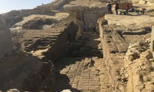 Lisht Middle Kingdom necropolis area.