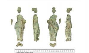 Roman statue Minerva statue found in Oxfordshire.