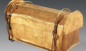 Mini Golden Coffin Found in Crypt May Hold Skull Bone of Buddha