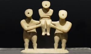 The three Figurines – Cycladic Art