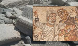 Mistaken Identity? Mosaic in Israel Purported to Show Alexander the Great, but Some Not So Sure