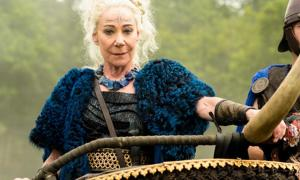 Zoe Wanamaker in TV series 'Britannia'.