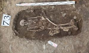 Two female graves were found. Researchers believe one was an Amazon like warrior woman and the other was a wealthy lady. Source: Artur Kharinsky/The Siberian Times