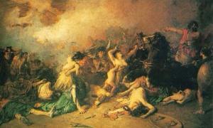 Legendary Battle of Monte Medulio.